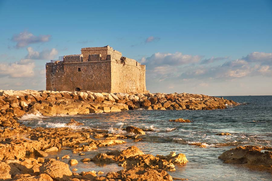Paphos, on the extreme western tip of the island of Cyprus, holds years of Mediterranean history