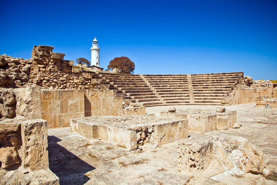 In Paphos there are different archaeological sites declared World Heritage by UNESCO